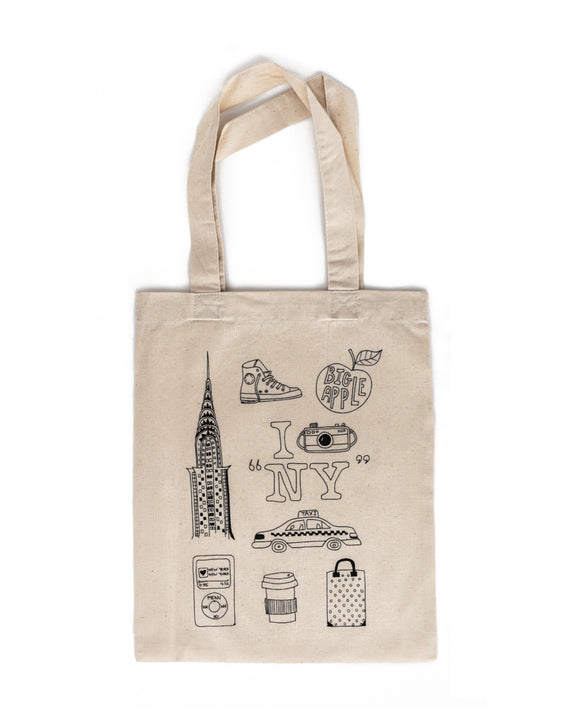 NEW YORK Tote Bag (without markers)