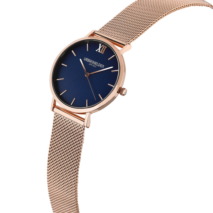 VERSUM Blue Mesh Rosegold - URBANHELDEN - Be inspired !