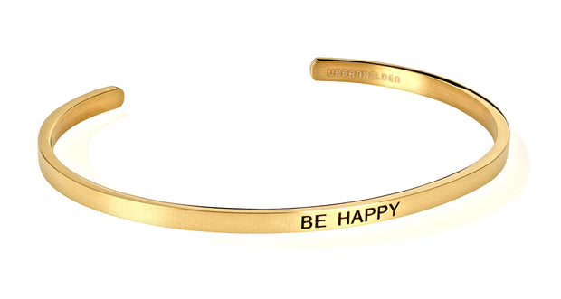 Be happy<br>Gold