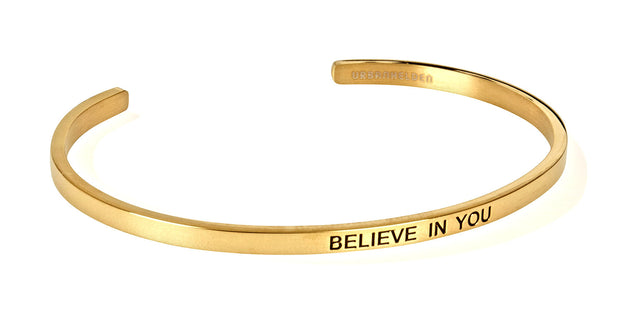 Believe in you<br>Gold