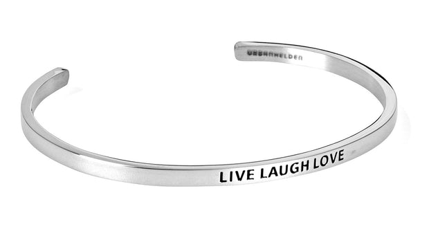 Live Laugh Love<br>Silber