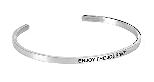 Enjoy the journey<br>Silber