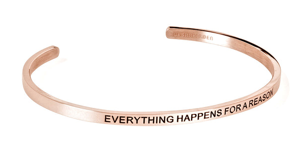 Everything happens for a reason<br>Rosegold