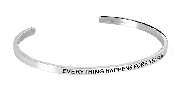 Everything happens for a reason<br>Silber
