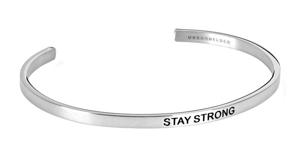 Stay Strong<br>Silber