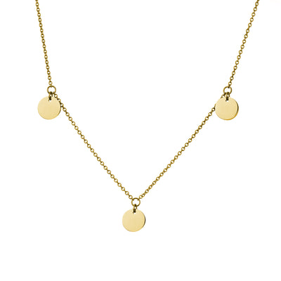 Coin Kette Gold