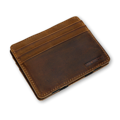 Magic Wallet Vintage Brown mit Münzfach