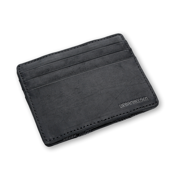 Magic Wallet Vintage Black mit Münzfach