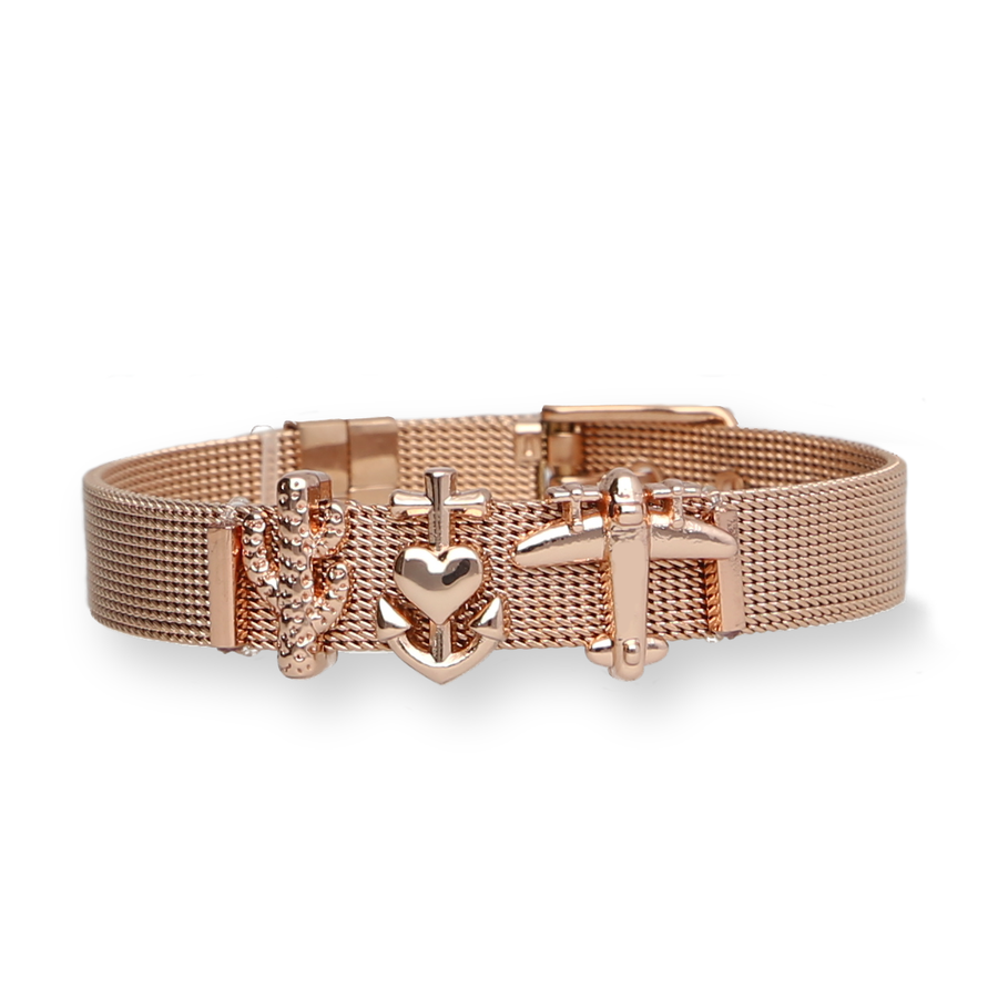 Mesharmband - DREAM HOLIDAY Rosegold - URBANHELDEN - Be inspired !