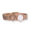 Mesharmband - SWEETHEART Rosegold - URBANHELDEN - Be inspired !