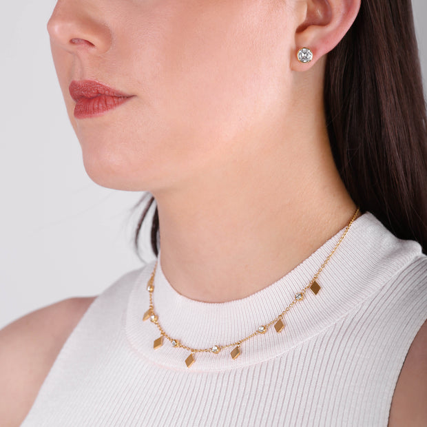 NO REGRETS CHOKER KETTE GOLD