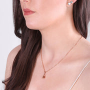 Promise Necklace Rosegold
