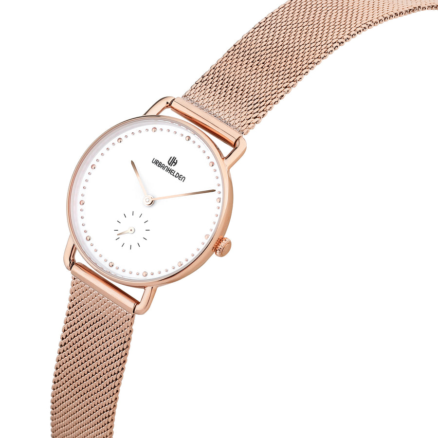 CRONOS White Mesh Rosegold - URBANHELDEN - Be inspired !