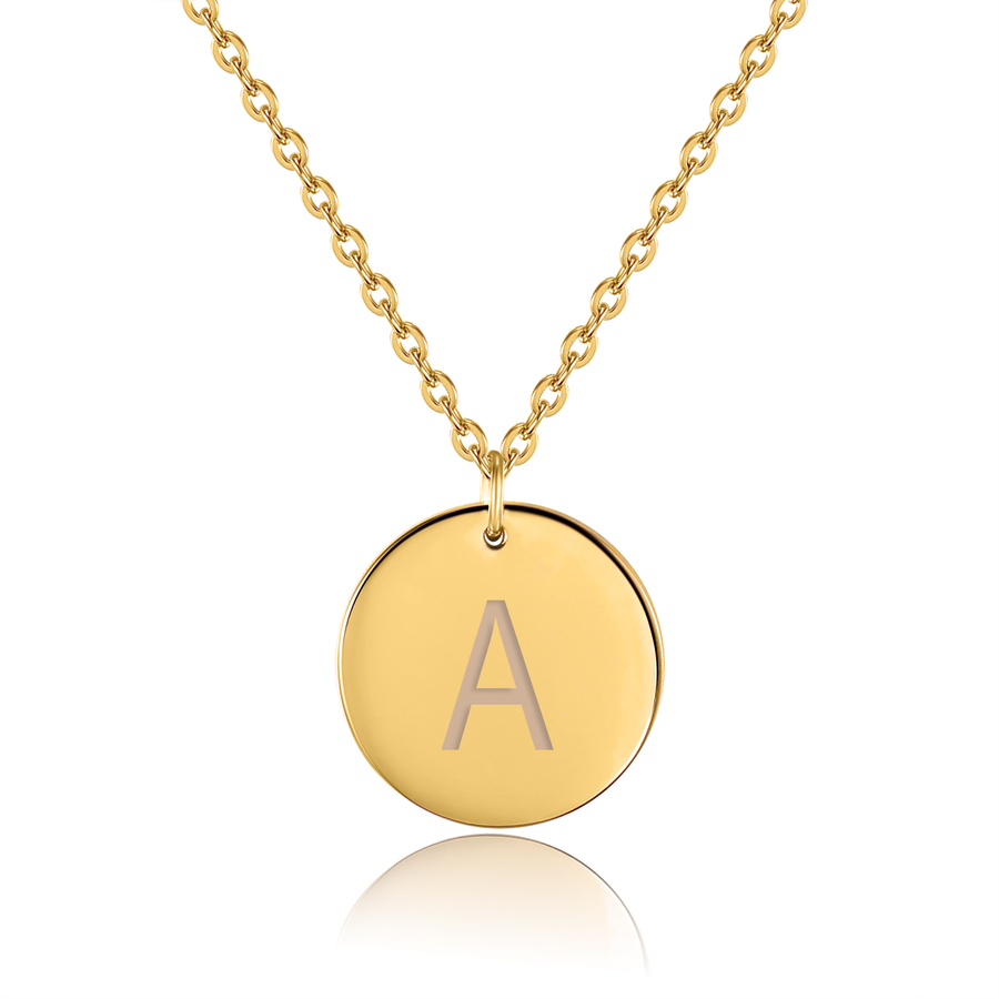 Kette Amulett Small Buchstabe - URBANHELDEN - Be inspired !