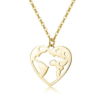 World Heart Damenkette Gold