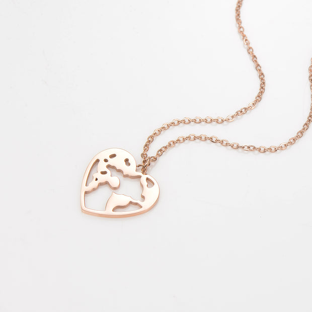 World Heart Damenkette Rotgold