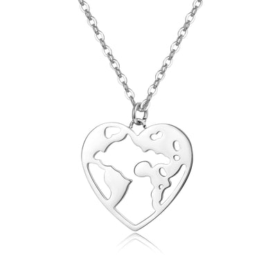 World Heart Damenkette Silber
