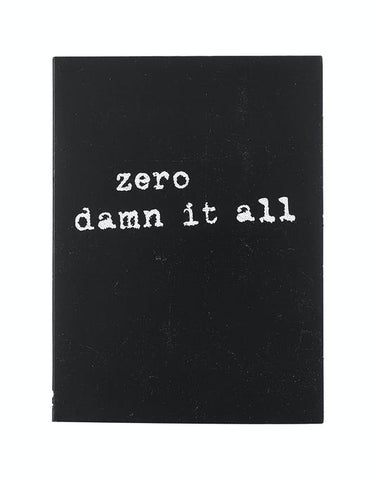 DVD: ZERO - Damn it All
