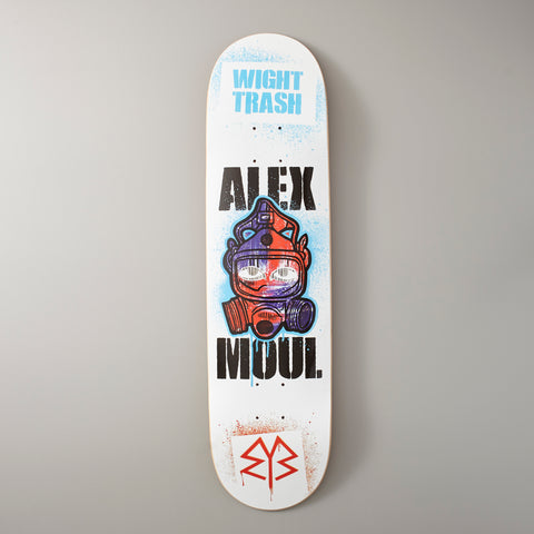 WIGHT TRASH SKATEBOARDS: Alex Moul Guest Board