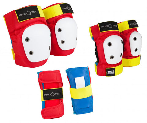PADSET: Pro-Tec Street Gear Junior 3-Pack - Retro