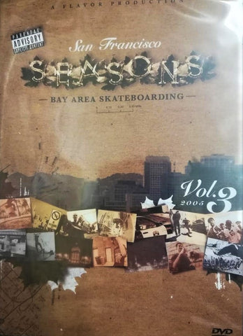 DVD: San Francisco SEASONS. Bay Area Skateboarding. Vol 3