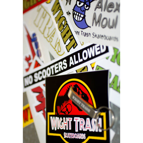 WIGHT TRASH STICKER PACK