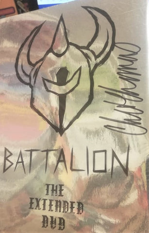 DVD: Darkstar - Battalion The Extended DVD (Signed)