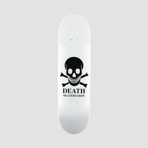 DEATH SKATEBOARDS: OG SKULL White