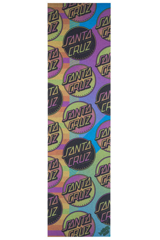 "GRIP TAPE: Santa Cruz Afterglow Dot  9"" Sheet"