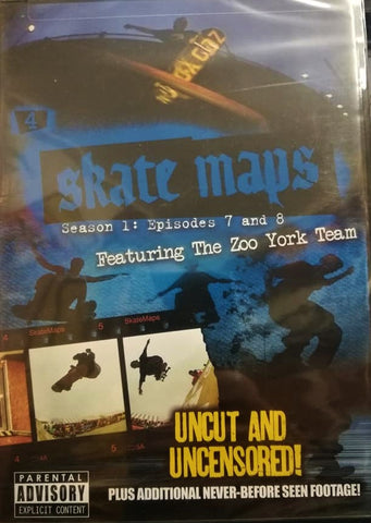 DVD: Skate Maps Season 1, Episodes 7 & 8