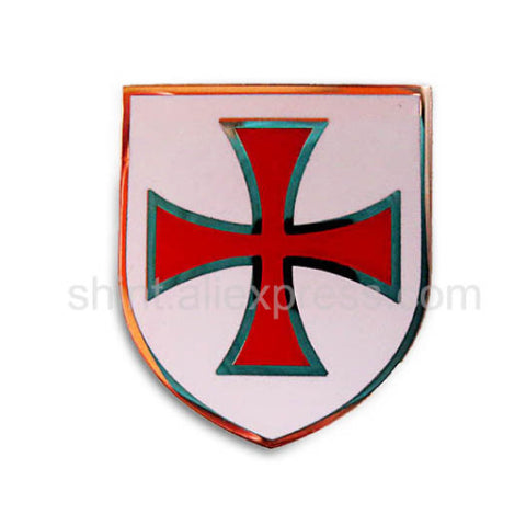 KNIGHT TEMPLAR RED CROSSED SHIELD