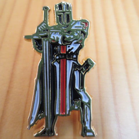 B45 KNIGHT MASONIC LAPEL PIN