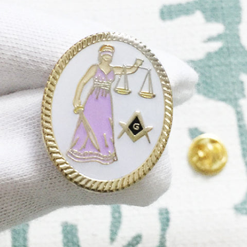 FREE MASONS LAWYER PINS