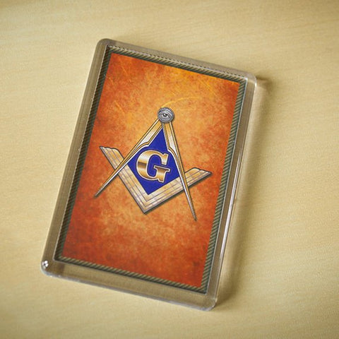 Nice Masonic Fridge Magnet