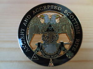 Masonic Lapel Pins Badge Mason Freemason ANCIENT AND ACCEPTED SCOTTISH RITE