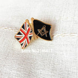 Flag Masonic Badge Freemason Pin United Kingdom