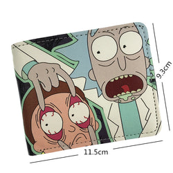 Comics Rick And Morty Wallet