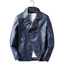 Men's Winter Casual Leather Jacket