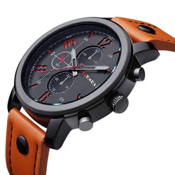 Men's SEA Leather Watch