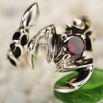 925 Sterling Silver  Scorpion ring