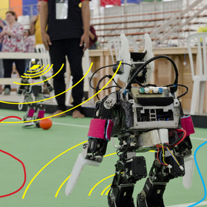 RadarIQ intelligent sensing track robots' positions