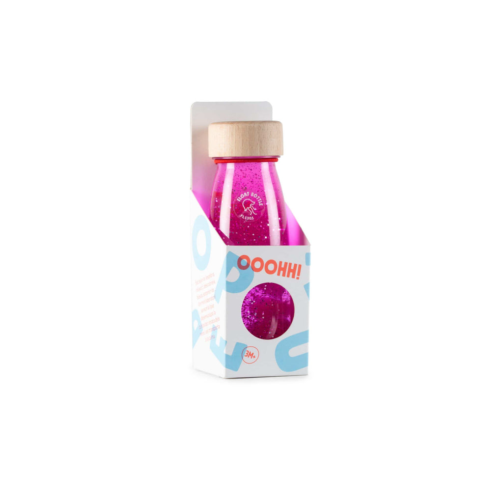 Bottiglia Sensoriale Float Bottle Pink Petit Boum