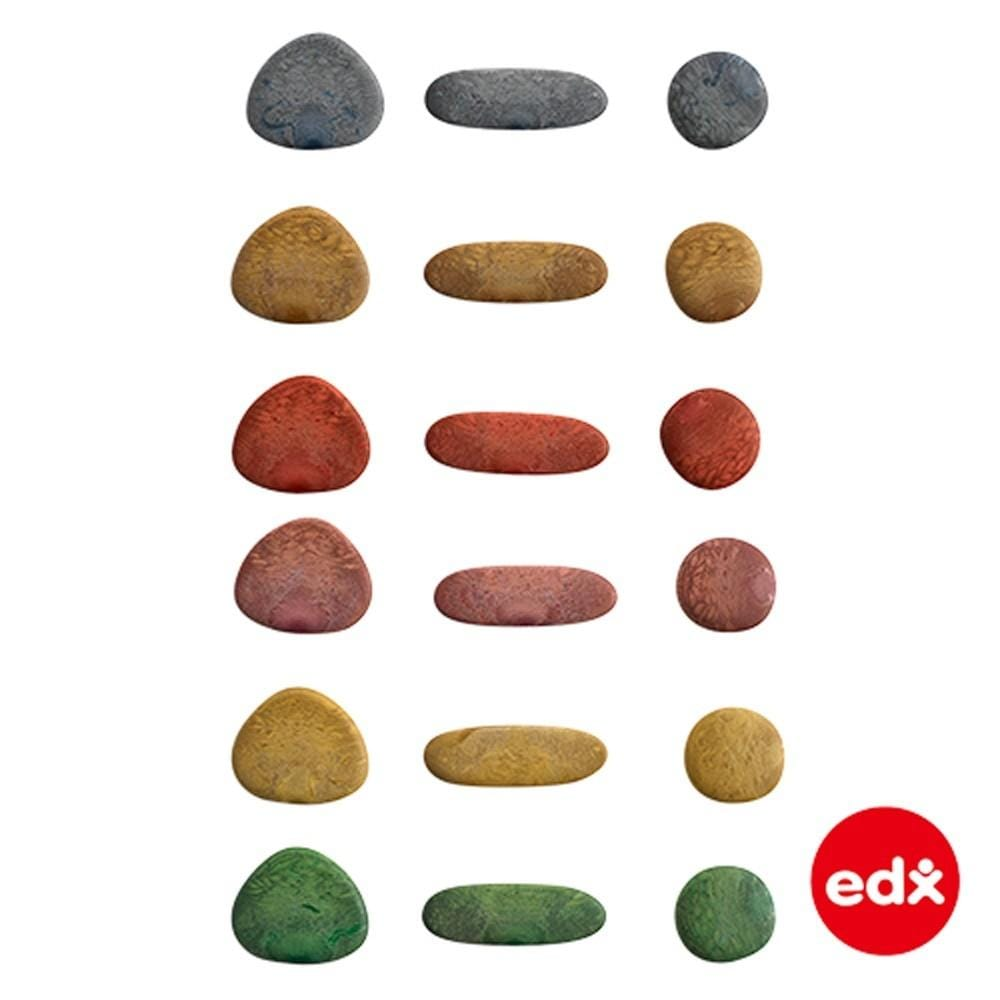 Ciottoli colorati Rainbow Pebbles® Edx Education - Shop Millemamme