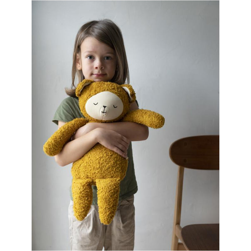 Peluche in cotone biologico Big Buddy Bear Fabelab