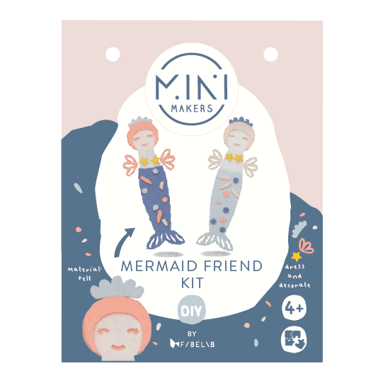Kit Fai Da Te Mermaid Friend Fabelab