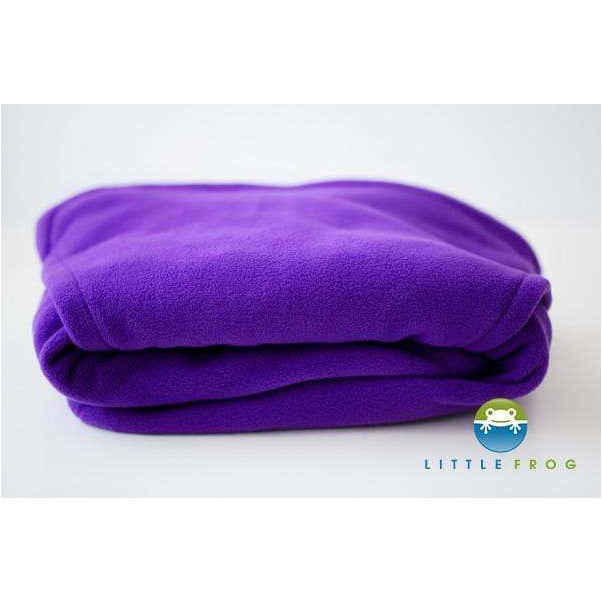 Cover in pile Little Frog Cosy Frog Purple - Shop Millemamme