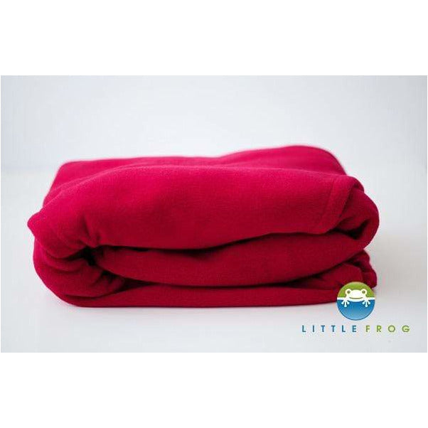 Cover in pile Little Frog Cosy Frog Red - Shop Millemamme