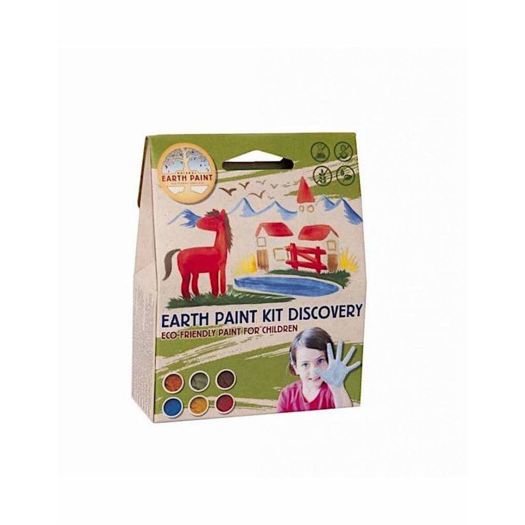 Pittura Naturale per bimbi Natural Earth Paint - Kit Discovery (1 litro) - Shop Millemamme