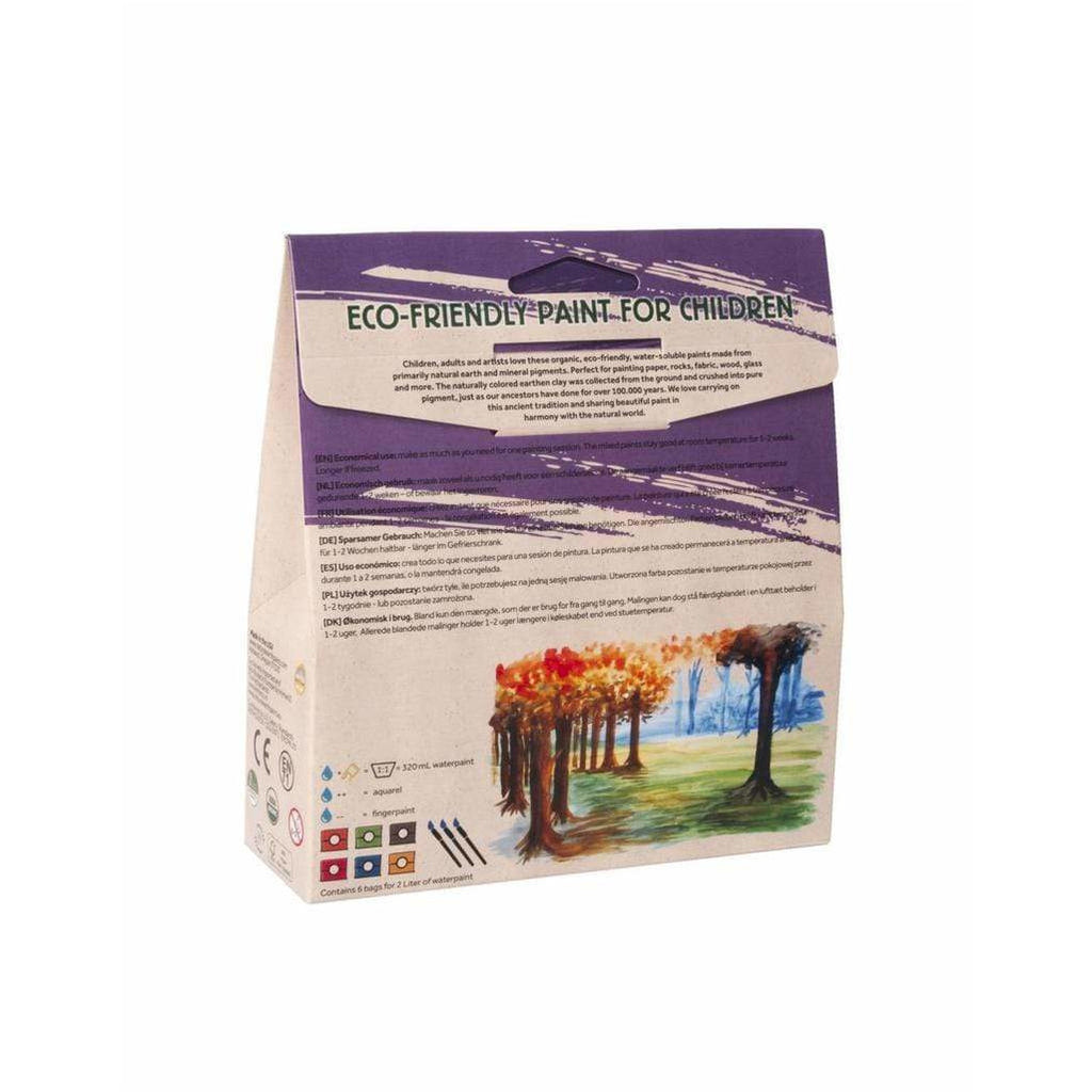 Pittura Naturale per bimbi Natural Earth Paint - Kit Experience (2 litri) - Shop Millemamme