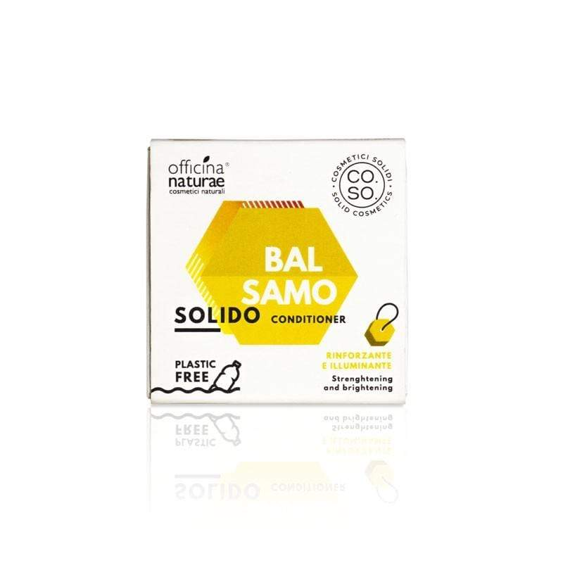 Balsamo Solido Rinforzante e Illuminante CO.SO. Cosmetici Solidi Officina Naturae - Shop Millemamme